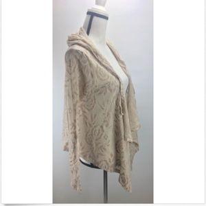 Wild Pearl Women's Cardigan Size S Hooded